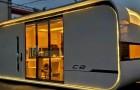 Une entreprise crée la maison du futur qui ressemble à un vaisseau spatial : petite et compacte, mais confortable