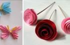 7 modi creativi e colorati per decorare con la carta e abbellire biglietti, pareti e stanze