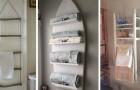 12 modi pratici e ingegnosi per sistemare gli asciugamani in bagno e organizzare al meglio lo spazio