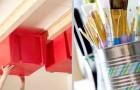 20 soluções muito práticas para ganhar o espaço extra que você procurava na garagem ou no armário