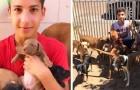 17-Jähriger erfüllt sich seinen Traum und macht ein Tierheim auf