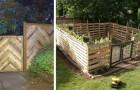 9 idee strepitose per costruire recinzioni in giardino riciclando i pallet