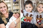A woman adopts a newborn girl and discovers that she is the biological sister of her adopted son