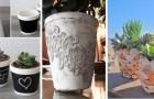 18 tecniche super creative per decorare i vasi di terracotta nei modi più originali