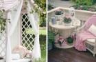 13 idées toutes plus belles les unes que les autres pour meubler votre jardin dans un style shabby chic