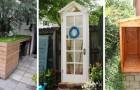 13 progetti fai-da-te per costruire comodi capanni per gli attrezzi e ripostigli da giardino