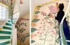 Diese Frau nutzte die Quarantäne, um ihr ganzes Haus in eine wunderbare Blumen- und Farbenpracht zu verwandeln
