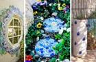 16 idee coloratissime per decorare il vostro giardino con la tecnica del mosaico