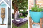 14 sympathiques projets créatifs pour transformer chaque coin du jardin en un espace chaleureux et coloré