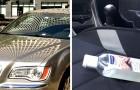 Brandweerlieden waarschuwen voor de risico's van het achterlaten van desinfecterende gel als de auto in de zon staat