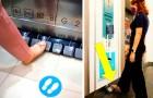 Ascensori con pedali al posto dei pulsanti: l'idea di un centro commerciale per ridurre i contagi da Coronavirus