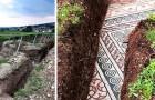 Tra le vigne della Valpolicella viene alla luce un mosaico di 2000 anni fa: apparteneva a una villa romana