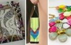 8 soluzioni deliziose per rinnovare vecchi oggetti e creare gioielli usando lo smalto per unghie
