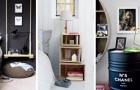 12 trovate originali per riciclare oggetti e realizzare dei comodini fai-da-te dal design unico