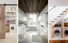 10 soluzioni pratiche e utili per ricavare una lavanderia in un angolo o in una stanza di casa