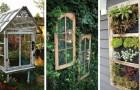 12 idee irresistibili per riciclare le vecchie finestre dando agli ambienti un tocco romantico