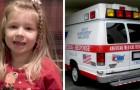 Een man heeft een hartaanval: zijn 5-jarige dochter roept om hulp en toont een buitengewone vastberadenheid