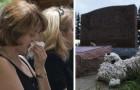 En kyrkogård tar bort gravstenen från en 4-årig pojkes grav för att den