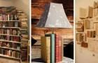 12 trovate fantasiose per riciclare i vecchi libri e trasformarli in originali complementi d'arredo