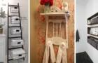 13 originali idee fai-da-te per ricavare spazio extra in bagno e avere tutto a portata di mano