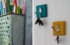 12 modi creativi per riciclare utensili e attrezzi da cucina e arredare con brio