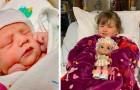 Uma menina de 4 anos doa a medula para o seu irmão que sofre de uma doença rara, salvando sua vida