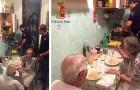 Les voisins appellent la police en entendant 2 personnes âgées pleurer : les agents arrivent et leur préparent le dîner