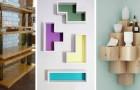 13 strepitose idee fai-da-te per realizzare scaffali e mensole dal look originale riciclando vecchi oggetti