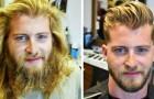 16 Männer, die nach vielen Jahren endlich mal wieder zum Frisör gingen und radikal verändert herauskamen