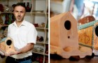 Eine Fabrik in der Türkei stellt Fliesen her, die Vögel beherbergen und sie vor dem schlechten Wetter der Natur schützen