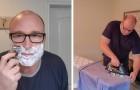 Aiuta i ragazzi cresciuti senza un padre a svolgere semplici faccende domestiche con dei video su Youtube