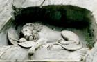 Le Lion de Lucerne : la sculpture où l'artiste a caché la silhouette d'un cochon par malice