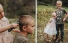 Le frère aîné décide de se faire couper les cheveux pour aider sa sœur de 3 ans dans sa lutte contre le cancer