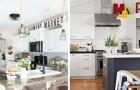 10 trovate affascinanti per sfruttare lo spazio sopra ai pensili e decorare con gusto la cucina