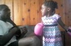 This 5 year old girl can REALLY knock you out !