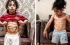 Este garoto de 6 anos já tem um físico escultural de campeão olímpico e quer se tornar um jogador de futebol de sucesso