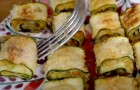 Baked zucchini roll-ups: perfect for the summer season