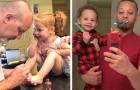 15 fotos que muestran todo el afecto y la ternura que un padre puede dar a sus hijos