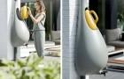 Raindrop, de druppelvormige opvangbak voor regenwater die zich aanpast aan elke woonomgeving