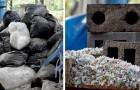 Azienda crea dei mattoni con sabbia e plastica riciclata: riducono lo spreco di risorse dell'80%
