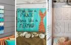 10 idee brillanti per creare insegne fai-da-te e portare una ventata d'estate in casa