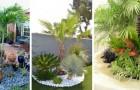 10 proposte da cui trarre ispirazione per decorare il giardino con le palme e creare un'atmosfera