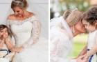 Het 3-jarige meisje is het bruidsmeisje op de bruiloft van haar beenmergdonor: ze heeft haar gered van leukemie