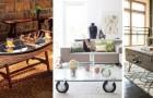 10 soluzioni ingegnose per creare originalissimi tavolini da salotto fai-da-te con materiali di recupero