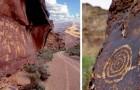 Il Nine Mile Canyon è lungo 64 chilometri e conserva antichissimi dipinti rupestri a cielo aperto