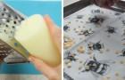 3 metodi facili per realizzare in casa tessuto cerato per alimenti da usare al posto della pellicola di plastica