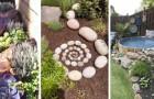 12 trovate irresistibili e tutte da provare per decorare il giardino con le rocce