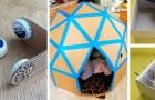 11 lavoretti semplici per riciclare materiali di scarto e creare giochi adatti ai bambini
