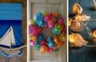 13 decorazioni irresistibili per portare in casa il brio dell'estate e le magiche atmosfere del mare