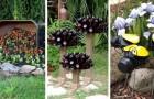 11 fantastiche decorazioni fai-da-te per arredare il giardino in modo ricercato e stravagante